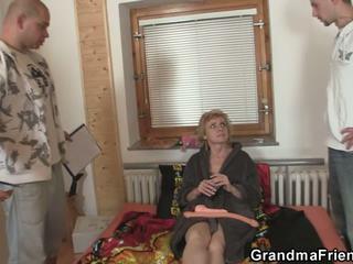 grannies, bręsta, tryse, senas + young