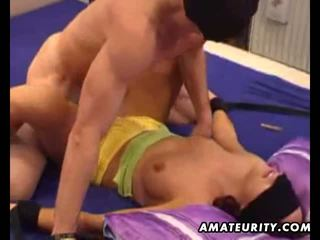 आमेचर ex गर्लफ्रेंड sucks और fucks साथ फेशियल