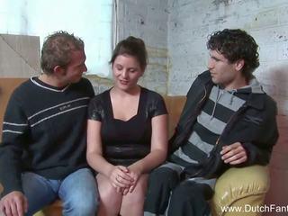 Random holandský trojice v holland, volný porno ea