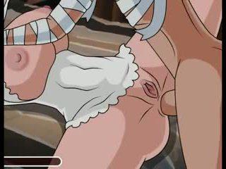 So much sex in halloween Hentai sex game