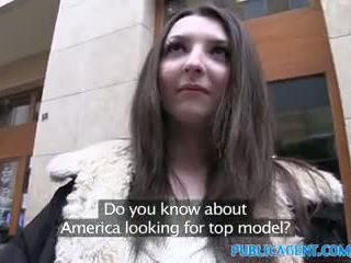PublicAgent Teen brunette gets fucked hard in a hotel room