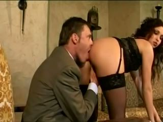 Alexa May in Black Stockings Anal, Free Porn 06