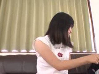 Japanese Playgirl Receives Wild Fingering In A Public Bus