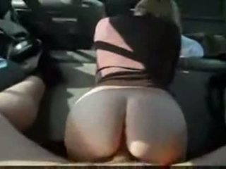 Big Ass Mom Fucked On The Backseat