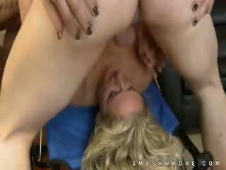 Zoe Holloway Two Cocks Rough Oral Sex