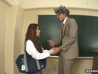 Nasty Ria Sakurai Gets Banged After Classes