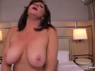 cougar, big tits, busty milf, hot mom