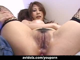 Tobulas hottie yuki aida gets jos šikna toyed uncensored