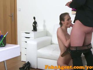 Fakeagent suhe austrian bejba fucks ji kasting agent