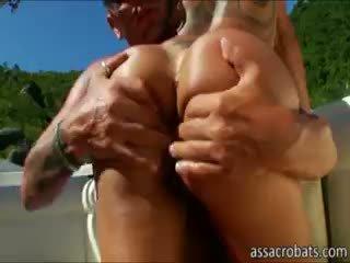 brunette, hq gros seins chaud, le plus chaud anal