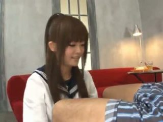 Erika Kashiwagi Changes Her Attire And Gives A Kiss
