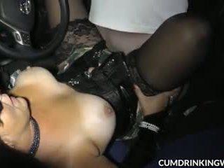 Hot slutwife Marion gang banged by plenty of guys