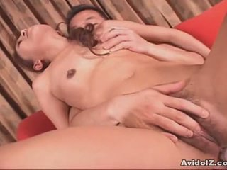 Mature Japanese Woman Gives Blowjob And Fucks