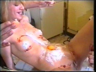 Caliente randy chavala llegar consolador y polla follando anal y semental getting boned por domina