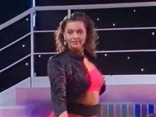 Warga itali tv menunjukkan - tutti frutti - kandidatin sabine