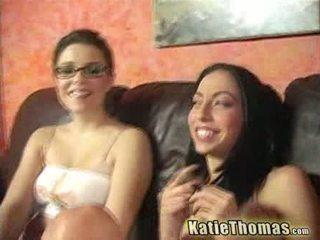 Veronica tone এবং katie banged দ্বারা একটি কালো fella