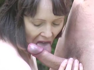 Mature Bigtit Mother Takes Young Dick on Nature: HD Porn d2