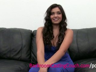 Squirting Anal Loving Teen Cums on Casting Couch - Porn Video 171