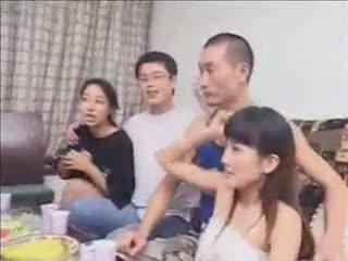 skupinový sex, manželka, hardsextube, číňan