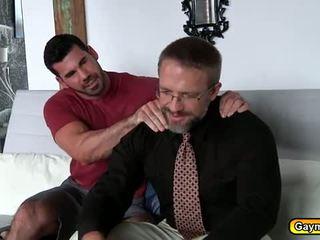 cara ideal, homossexual fresco, agradável suportar