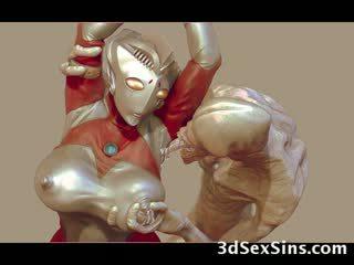 3d aliens a monsters souložit holky!