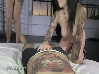 Hardcore loving with nasty punk princess Joanna Angel