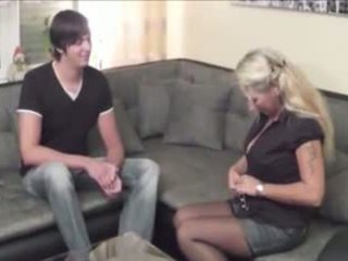 Mom with Not Her Son: Free MILF Porn Video