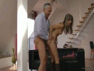 Gina Gerson Fucks Old Guy - Porn Video 121