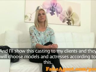 FakeAgent Actress fucks to get dream job in casting - Porn Video 581