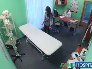 Fakehospital spanyol beteg gets creampied