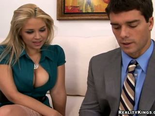 best blondes, you big tits, fun office hot