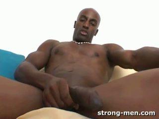 DeShaun a Black Muscle Hunk