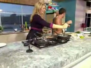 Cfnm From Tv Cooking Naked On Live This Morning