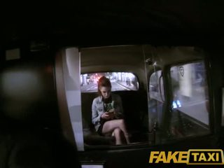 FakeTaxi Boy Band groupie settles for sex with the taxi driver - Porn Video 881