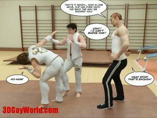 Kung fu guys 3d гей мультиплікація animated comics