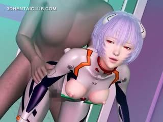 Hentai Anime Gets Fucked By Monsters Tentacles