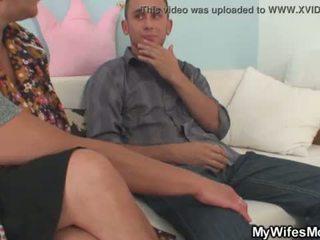 Oh God, my wifes mom seduces me! <span class=duration>- 6 min</span>