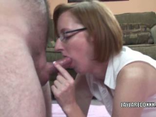 Ginger MILF Layla Redd Has Her Mature Pussy Bumped