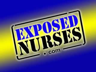 Sexy Nurse Pavlina Put A Medical Instrument Up Her Pussy