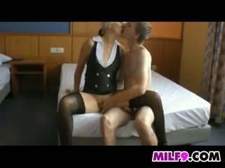 Blonde Mom Wants Young Cock