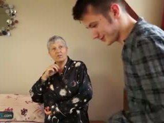 senas, gilf, vyresnis, senelė
