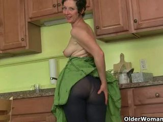 Mom's سر masturbation تقنية