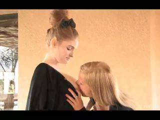 hq mencium menonton, ideal gadis pada gadis lebih, lezzy sebenar