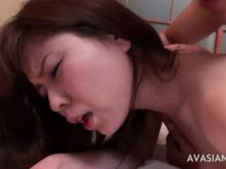 Skinny Asian Cries In Pain During Anal