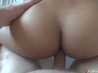 Asian Teen Sucks off White Cock, Free HD Porn 8f