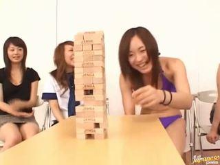 Exciting aziāti grupa jautrība