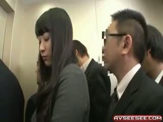 Zeer sexy en heet japans meisje neuken video-