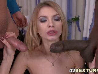 Karina Grand Monster Cock Anal DP, Free Porn a7