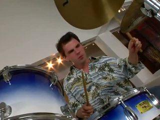 Kara novak bangs a drummer