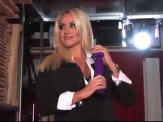 calitate blonde distracție, frumos jucarii sexuale tu, nou striptease fierbinte